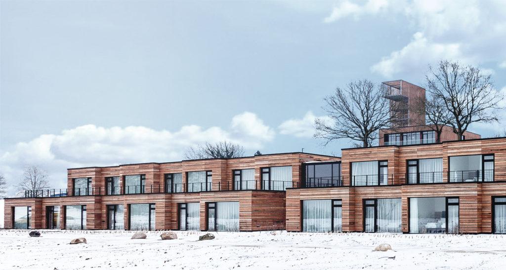 Das Panorama-Hotel Aschberg im Winter
